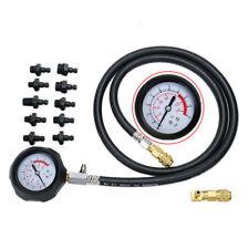 Universal Car Wave Box Oil Pressure Tester Gauge Meter Garage Kit 140Psi/10Bar