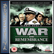 WAR AND REMEMBRANCE - THE COMPLETE SERIES **BRAND NEW DVD***