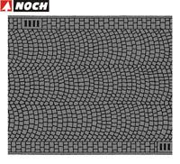 NOCH H0 60722 Kopfsteinpflaster, 100 x 6,6 cm (1 m² - 105,91 €) - NEU + OVP