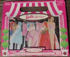 BARBIE PAPER DOLLS MAGICLOTH BOUTIQUE CHIC COLLECTION MAGNETIC CLOTH