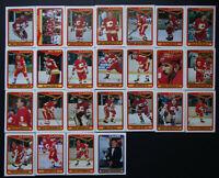1990-91 O-Pee-Chee Calgary Flames Team Set of 25 Hockey Cards