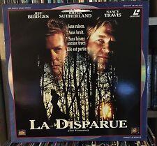 LA DISPARUE - JEFF BRIDGES / KIEFER SUTHERLAND - LASERDISC