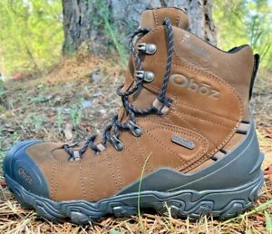 Oboz Bridger 8in Insulated B-Dry Boot Mens US 10