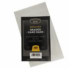 Внешний вид - Graded Card Sleeves Cardboard Gold Resealable Protection Bag 100 200 300 400 500