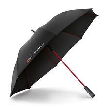 Audi Sport Stockschirm Schwarz Rot 3121400200 Regenschirm Umbrella Schirm