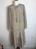 Vintage Albert Nipon dot point Dress Size 8