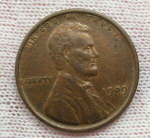 XF+/Au VDB LINCOLN WHEAT Penny. #55