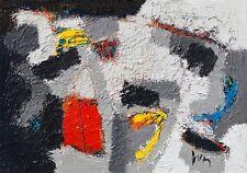 Jos van den Berg: Tambaran Abstrakt Fertig-Bild 70x100