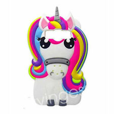 Cartoon animal Silicone Unicorn Soft Kid Cover Case For Samsung S8 A3/A5/A7 2017