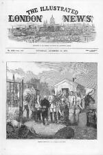 1870 FRANCO GERMAN WAR: Prussian supplies near Paris Soldiers military (220)