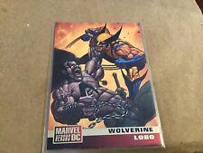 DC Versus Marvel 1995 Base Card  #55 Wolverine Vs Lobo  Nice !
