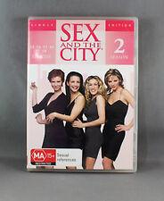 SEX AND THE CITY SEASON 2 SINGLE EDITION (DVD DISC 2002) E13 to18 VERY GOOD CON.