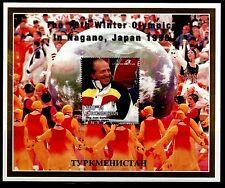TEMA REY TURKMENISTAN 1998 NAGANO JAPON 1998 J.OLIMPICOS DE INVIERNO HB 25