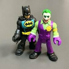 Super Rare Imaginext Joker & Batman DC Super Friends Figure 2020 Batcave Sets