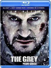 NEW BLU RAY + DVD - THE GREY - Liam Neeson, Frank Grillo, Dermot Mulroney,