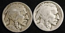 """1926-d Buffalo Nickels.  """"3 1/2 Legs""""  Compare Front legs.  G.-V.G.   112117"""