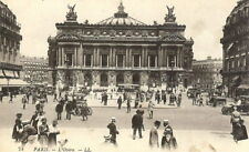 FRANCE: Paris, L'Opera - B/W - Unposted c.1920's - Levy