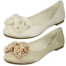 Chaussures en satin pour femme