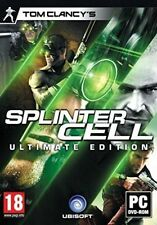 - Tom Clancy's Splinter Cell Ultimate Edition PC DVD ROM Ean3307215785683