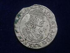 ( VI ) 6 Groschen  1663 Warschau Polen Johann Casimir W/17/501