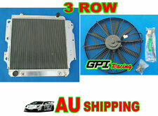 4ROW all aluminum radiator Jeep Wrangler YJ/TJ/LJ  RHD 1987-2006 AT/ MT + FAN
