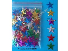 STAR LASER CUT SEQUINS - CHRISTMAS CRAFT DECORATIONS