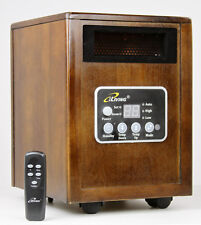 iLiving Infrared Space Quartz Heater 1500W by Dr Heater 2X more Heat