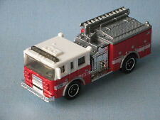 Matchbox Pierce Dash Fire Engine Rescue E31 Red and White Toy Model car in BP
