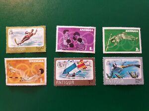 Antigua sports stamp set of 6