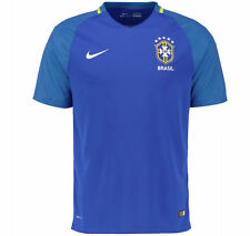 Nike Brasil 2016 Away Youth Stadium Jersey size XL 724686-493 Royal Blue ronaldo
