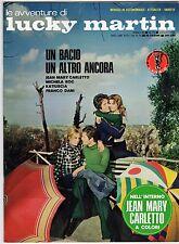 fotoromanzo LE AVVENTURE DI LUCKY MARTIN ANNO 1974 NUMERO 70 CARLETTO ROC DANI