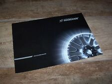 Catalogue / Brochure HAMANN Jantes / Wheels 200? //