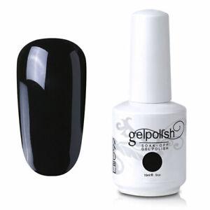 Elite99 15ML Gel Polish Nail Art Base Top Coat UV LED Manicure Varnish Lacquer