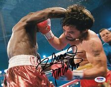 Manny Pacquiao *Pacman* autographed Boxing Champion 8x10 photo PSA/DNA Y72686