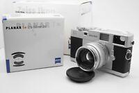 [UNUSED] Zeiss Ikon ZM Rangefinder Camera Body w/ Planar 50mm f/2 ZM Lens Japan