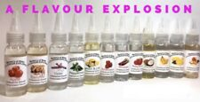 HUGE 30ML BOTTLES SUPER CONCENTRATED LIQUID FOOD FLAVOURING CAKES DRINKS SWEETS