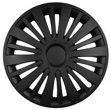 "Voiture Van Enjoliveurs HUB Caps Rouge /& Noir Fiat 500 08-12 14/"" 14 in environ 35.56 cm"