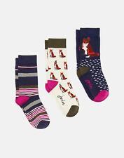 Joules 124986 Ankle Socks 4 8 in FOX Size 4in8
