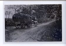 (Sd507-100) The Last Load, Horse Pulling Hay Cart  1908, Used G-VG