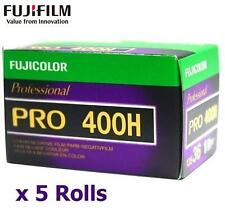 5 Rolls x Fujifilm Fuji Color PRO 400H 135 35mm 36EXP ISO 400 Film