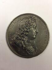 Louis XIIII - Médaille en etain signée Caqué 1838 - Série Rois de France
