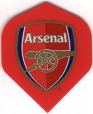 Arsenal Football Dart Flights: 3 per set