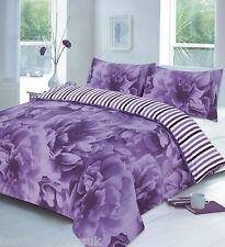 Rose Floral Duvet cover Set Designer Quilt single Double Super King Size Printed