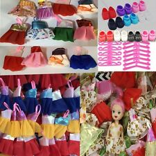 new 30 PCS  for Kelly Dolls Dress 10 Clothes + 10  P Shoes  + 10 hangers