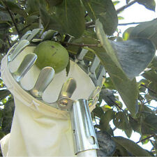 Metal Fruit Picker Orchard Fabric Convenient Gardening High Tree Picking ToolsCN