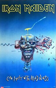 Iron Maiden - Can I Play With Madness Poster (61x91.5cm)
