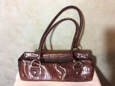 JL KENNETH COLE SKIN PURSE 12 X 4 Brown