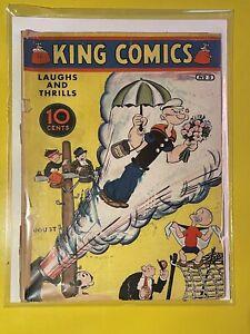 KING COMICS #5 POPEYE 5th APPEARANCE / SUPER RARE / CGC IT / GOOD / FLASH GORDON