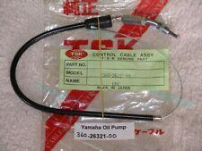 Yamaha RD250 RD350 360-26321-00 Oil Pump Cable