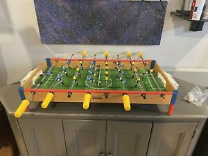 Vintage Franklin Foosball Tabletop Game, Made In Italy 1970's